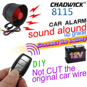 2 Way Remote Control Alarm Security System Lock Universal Cars Vehicle Kit