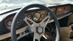 82 Fiat 124 Spider Steering Wheel Used Not Perfect