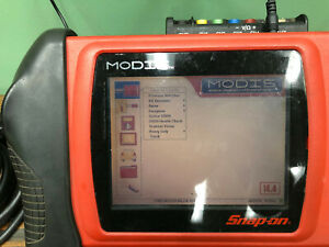 Snap On Modis Eems300 Diagnostic Tool Scanner Lots Of Accessories 14 4