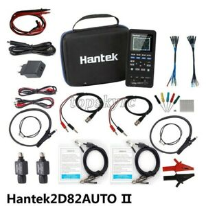 Hantek2d82auto Ii 4 in 1 Auto Diagnostic Oscilloscope Multimeter Signal Source