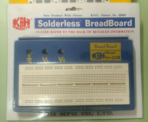 Original Nos K h Rh 21b Solder less Breadboard Proto Board In Gl 36 Box
