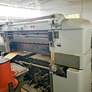 Seybold Hydro Spacer 60 Industrial Paper Guillotine cutter