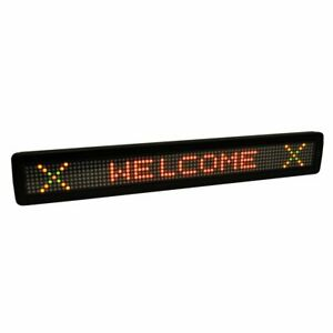 Multi color Led Programmable Sign Message Display Billboard