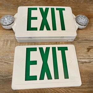Lithonia Lighting Lhqm Led G Quantum Series Led Lamps Exit Sign With Emergency