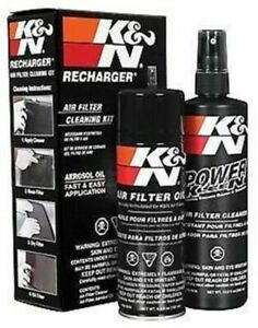 K N Air Intake Cleaner Recharger Kit With Spray Oil Free Shipping