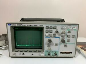 Hp 54620a Agilent 16 Channels 500 Msa s Scope And Logic Analyzer With Probes