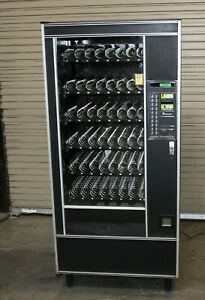 Ap Automatic Products Cigarette Glass Front Vending Machine In Working Condition
