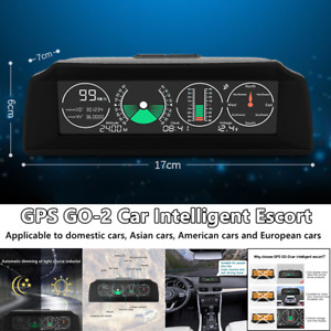 1x Gps Go2 Car Universal Electronics Gps Speedometer Hud Display Speed Projector