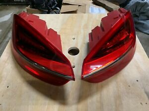 Porsche 2013 2016 981 Cayman Boxster Right Left Rear Tail Light Set Great Cond
