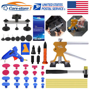 Paintless Hail Removal Dent Lifter Pdr Tools Diy Dent Repair Glue Tap Puller Tab