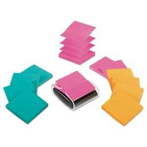Post it Pop up Notes Super Sticky Pop up Dispenser Value Pack 3 076308725792