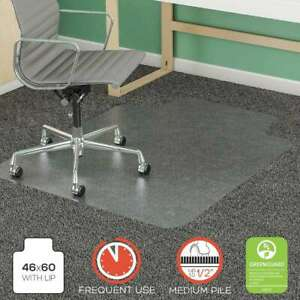 Deflecto Supermat Frequent Use Chair Mat Rectangle 46 X 60 079916030876