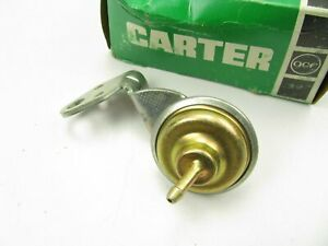 Nos Original Oem Carter Afb Carburetor Choke Pull Off Carb Tag 9203 9205