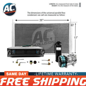 Ac Kit Universal Evaporator Underdash Unit Compressor And Condenser 13 X 26