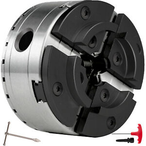 4 Jaw Chuck For 5inch Wood Lathe Chuck 2500rpm Machines With M33 Thread Holder
