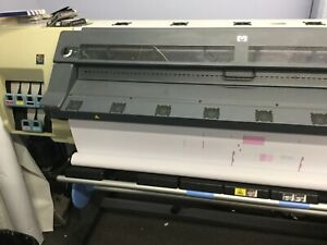 Hp Designjet L25500 Wide Format Latex Printer 60 Inch Original Owner Onyx Extras