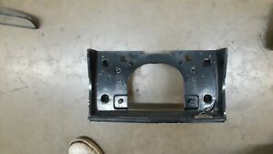 1977 1979 Chevrolet Caprice Impala Rear License Plate Holder Trim Fuel Door Oem