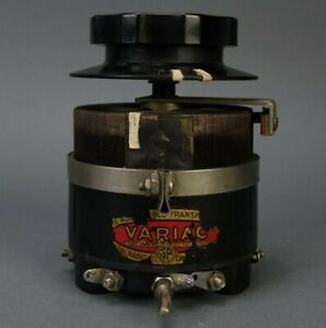 Vintage General Radio Type 200 B Variac Variable Transformer