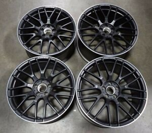 Set Of 4 17 18 19 Sl63 Sl65 Oem Wheel Rim 85563 85564 2314012300 2314012200