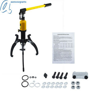 10 Ton Hydraulic Gear Bearing Wheel Bearing Puller For Yescom 3in1 Us