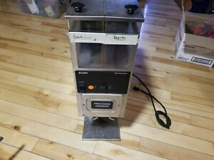 Bunn O Matic Precision Commercial Coffee Grinder G92 Series W dual Hoppers G9 2