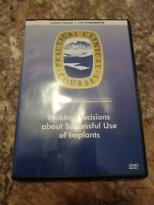 Gordon Christensen Dental Dvd Making Decisions About Successful Use Of Implants
