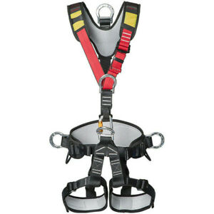 Full Body Safety Belt Tree Climbing Saddle Rock Climbing Aerial Work Harness