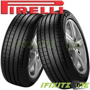 2 Pirelli Cinturato P7 205 55r16 91v Uhp Ultra High Performance Traction Tire