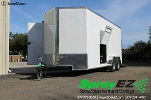 Fully Customizable Spray Foam Trailers Featured 8 5x20 Graco E 30 Proportioner