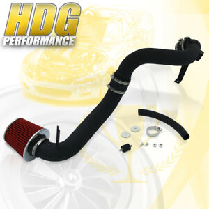 Cold Air Intake Induction Black Red Filter For 12 15 Honda Civic Ex Lx Dx 1 8l