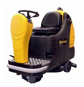 Tornado 26 27 26 Rider Automatic Floor Scrubber Nationwide Warranty Service