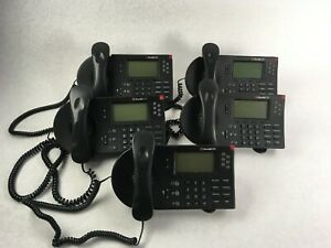 Shoretel 560 Voip Ip Business Phone Lot Of 5 With Stands