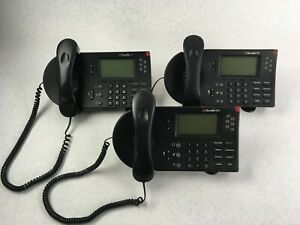 Shoretel 560 Voip Ip Business Phone Lot Of 3 With Stands