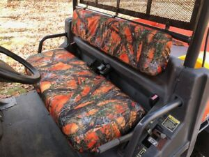 Durafit Seat Covers Kubota Rtv 900 1100 Orange Camo Seat Covers For 2004 2014