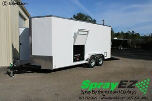 Fully Customizable Spray Foam Trailers Featured 7x18 Pmc Ph 40 Proportioner