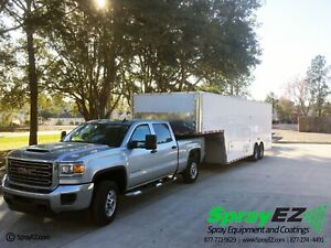 Spray Foam Rig Packages For Sale Featuring Pmc Ph 40 Gooseneck Trailer