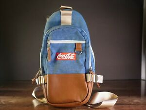 Coca Cola Mini backpack crossbody shoulder adjustable strap NEW