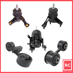 Motor Trans Mount 5pcs Fit 07 09 Toyota Camry 2 4l For Auto Trans Usa Built
