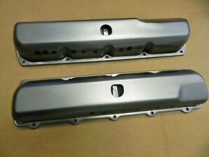 1967 72 Oldsmobile Cutlass 442 W30 W31 Factory Correct Notched Gm Valve Covers