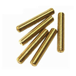 M5 M6 M8 M10 M12 M14 Solid Brass Fully Threaded Rod Bar Stud Length 20 120mm