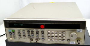 Hp Agilent 83752b Synthesized Sweeper Generator 0 01 To 20ghz