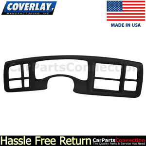 Coverlay Instrument Cluster Panel Cover Black 18 216ic Blk 03 06 For Escalade