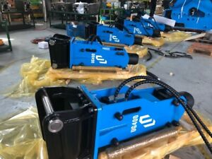Hydraulic Hammer Cylindrical Top Breaker Mini Excavator cat 420