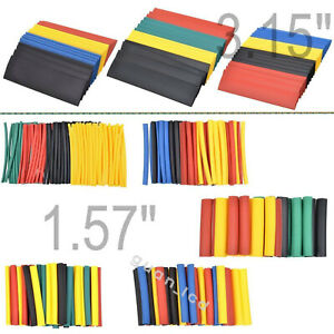 Heat Shrink Tube Assorted Insulation Shrinkable Tube Wire Cable Sleeve 328pc _ca