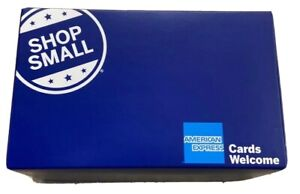 Lot Of 12 Shop Small Gift Box American Express Small Business