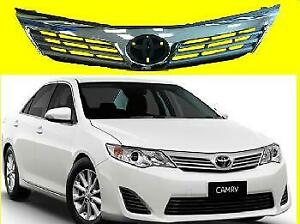 Grille For Toyota Camry L 2012 2014 Chrome gray 5310106320 To1200344