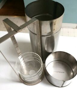 Fisherbrand Petri Dish Stainless Steel Sterilization Canister W Rack