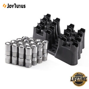 For Ls7 Ls2 16pcs Performance Hydraulic Roller Lifters 4 Guides 12499225 Hl124