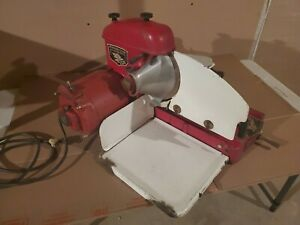 Vintage 1960 s Art Deco Working Meat Slicer Machine Us American Slicing Co