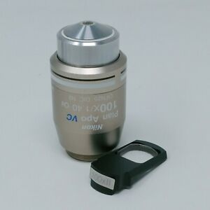 Nikon Microscope Objective Plan Apo Vc 100x 1 40 Oil Dic With Dic Prism 100xii